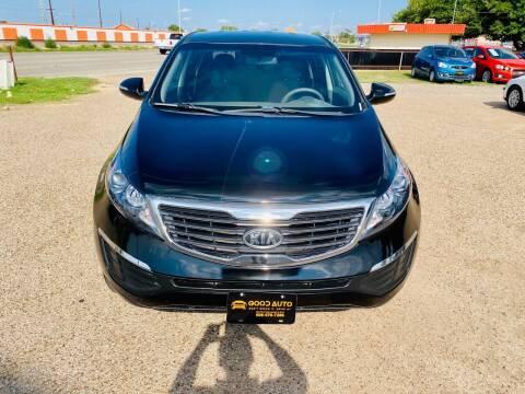 2012 Kia Sportage for sale at Good Auto Company LLC in Lubbock TX