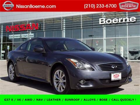 2012 Infiniti G37 Coupe for sale at Nissan of Boerne in Boerne TX