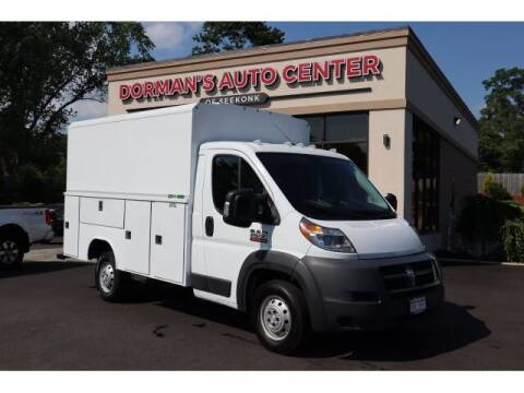 2015 RAM ProMaster Cutaway Chassis for sale at DORMANS AUTO CENTER OF SEEKONK in Seekonk MA