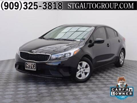 2018 Kia Forte for sale at STG Auto Group in Montclair CA