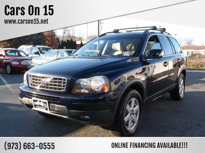 2007 Volvo XC90 for sale at Cars On 15 in Lake Hopatcong NJ