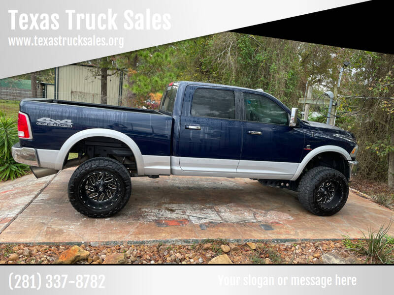 2017 RAM Ram Pickup 2500 for sale at Texas Truck Sales in Dickinson TX
