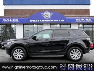 2016 Land Rover Discovery Sport for sale at Highline Group Motorsports in Lowell MA