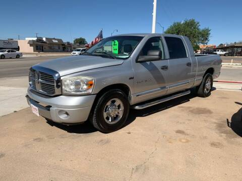 2007 Dodge Ram Pickup 1500 for sale at KD Motors in Lubbock TX