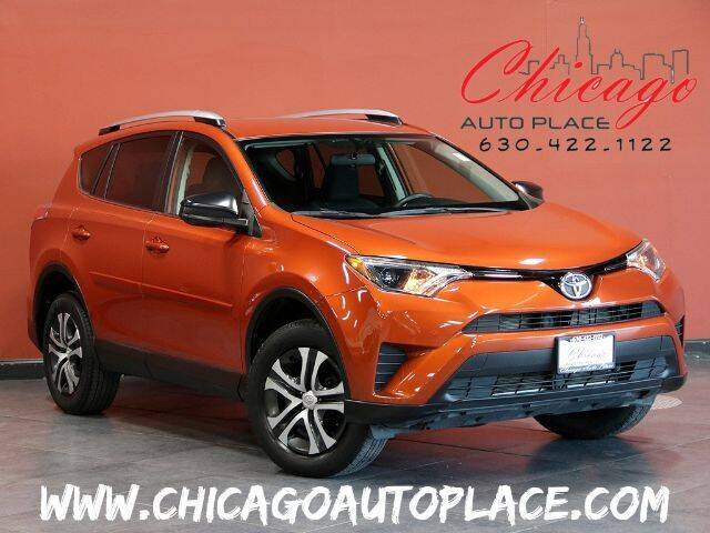 2016 Toyota RAV4 for sale at Chicago Auto Place in Bensenville IL