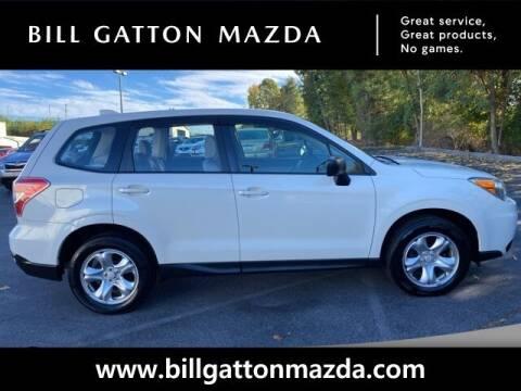 2016 Subaru Forester for sale at Bill Gatton Used Cars - BILL GATTON ACURA MAZDA in Johnson City TN