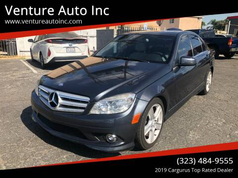 2010 Mercedes-Benz C-Class for sale at Venture Auto Inc in South Gate CA