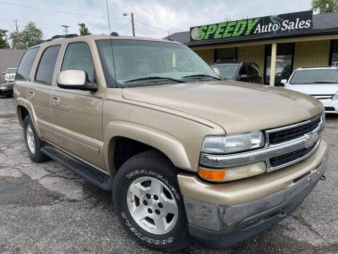 2005 Chevrolet Tahoe for sale at speedy auto sales in Indianapolis IN
