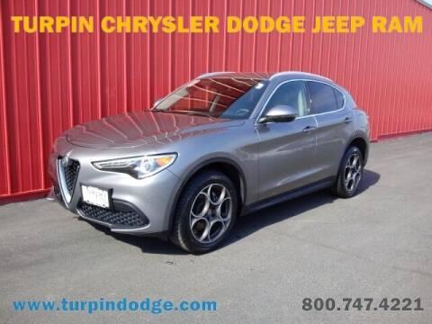 2018 Alfa Romeo Stelvio for sale at Turpin Dodge Chrysler Jeep Ram in Dubuque IA