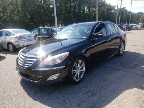 2012 Hyundai Genesis for sale at Auto 757 in Norfolk VA