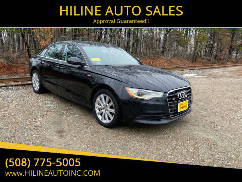 2014 Audi A6 for sale at HILINE AUTO SALES in Hyannis MA