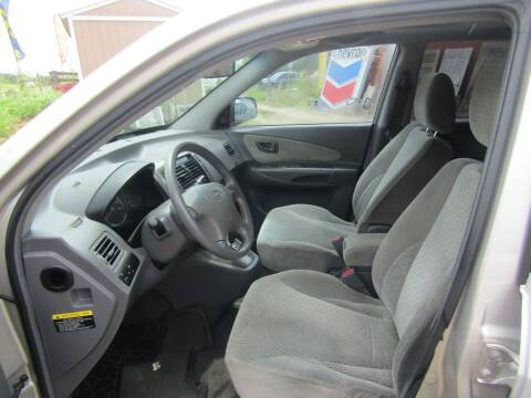 2005 Hyundai Tucson for sale at Hill Top Sales in Brenham TX