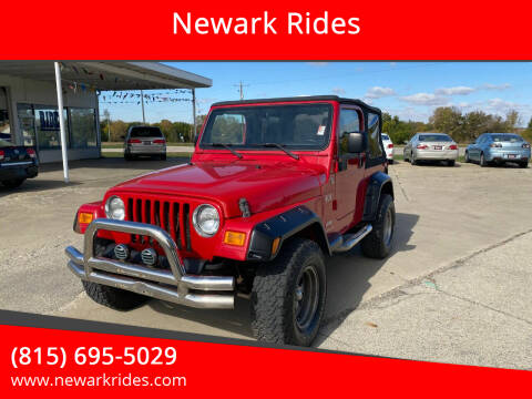 2006 Jeep Wrangler for sale at Newark Rides in Newark IL