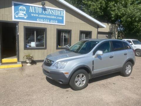 2009 Saturn Vue for sale at Auto Consider Inc. in Grand Rapids MI
