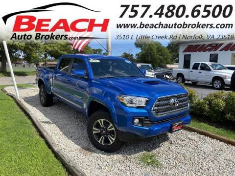 2017 Toyota Tacoma for sale at Beach Auto Brokers in Norfolk VA
