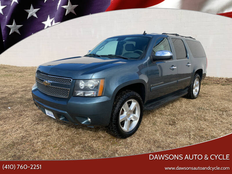 2008 Chevrolet Suburban for sale at Dawsons Auto & Cycle in Glen Burnie MD