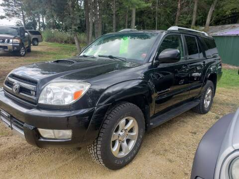 2004 Toyota 4Runner for sale at Northwoods Auto & Truck Sales in Machesney Park IL