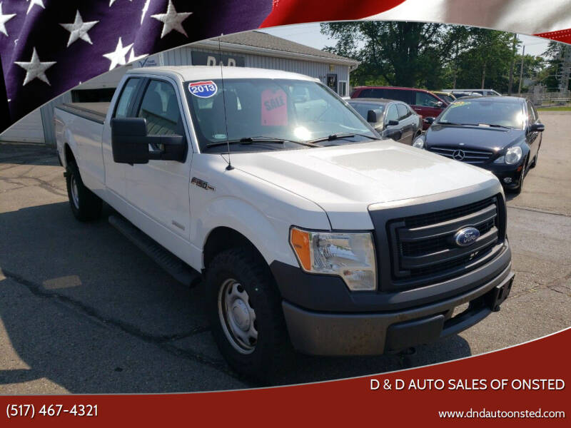 2013 Ford F-150 for sale at D & D Auto Sales Of Onsted in Onsted MI