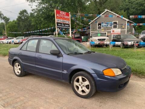 2000 Mazda Protege for sale at Korz Auto Farm in Kansas City KS