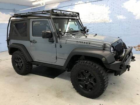 2015 Jeep Wrangler for sale at Middle Tennessee Auto Brokers LLC in Gallatin TN