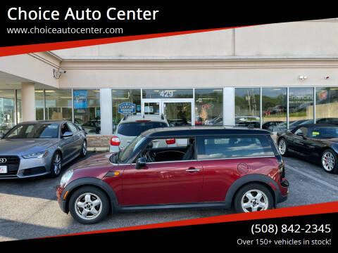 2009 MINI Cooper Clubman for sale at Choice Auto Center in Shrewsbury MA