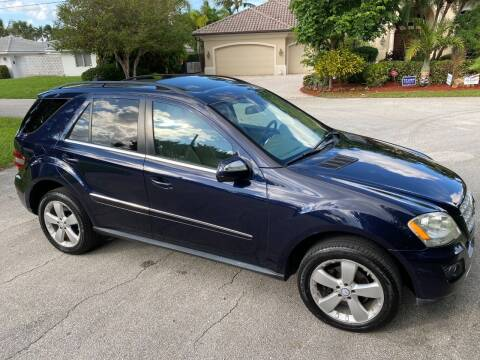 2010 Mercedes-Benz M-Class for sale at Exceed Auto Brokers in Pompano Beach FL