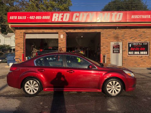 2010 Subaru Legacy for sale at Red City  Auto in Omaha NE