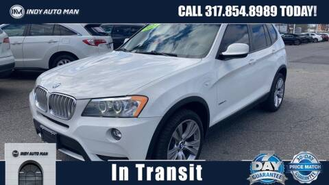 2014 BMW X3 for sale at INDY AUTO MAN in Indianapolis IN