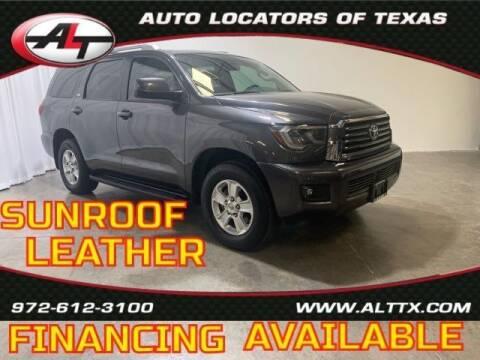 2018 Toyota Sequoia for sale at AUTO LOCATORS OF TEXAS in Plano TX