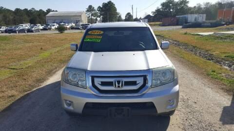 2011 Honda Pilot for sale at Auto Guarantee, LLC in Eunice LA
