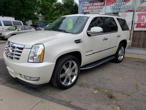 2011 Cadillac Escalade for sale at Devaney Auto Sales & Service in East Providence RI