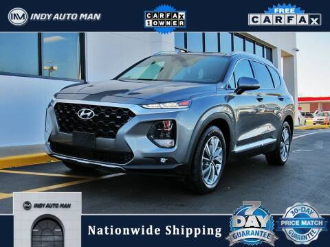 2019 Hyundai Santa Fe for sale at INDY AUTO MAN in Indianapolis IN