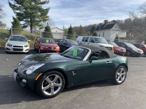 2006 Pontiac Solstice for sale at Premiere Auto Sales in Washington PA