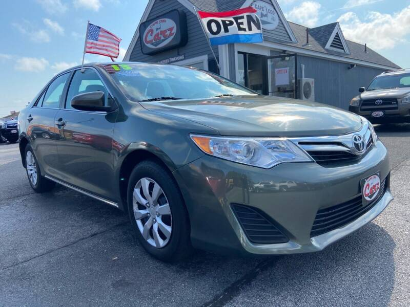 2013 Toyota Camry for sale at Cape Cod Carz in Hyannis MA