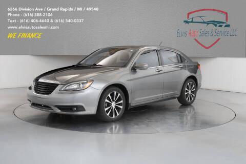 2012 Chrysler 200 for sale at Elvis Auto Sales LLC in Grand Rapids MI