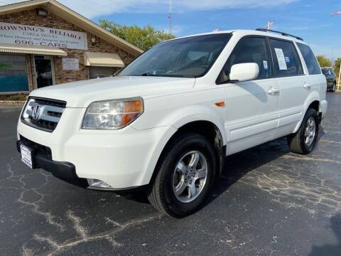 2007 Honda Pilot for sale at Browning's Reliable Cars & Trucks in Wichita Falls TX