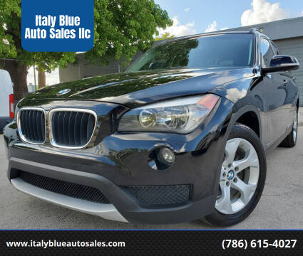 2014 BMW X1 for sale at Italy Blue Auto Sales llc in Miami FL