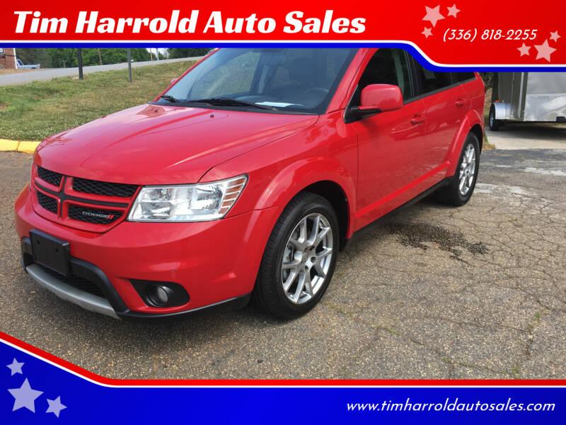 2012 Dodge Journey for sale at Tim Harrold Auto Sales in Wilkesboro NC