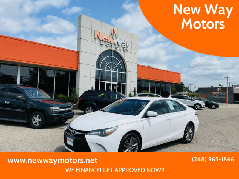 2016 Toyota Camry for sale at New Way Motors in Ferndale MI