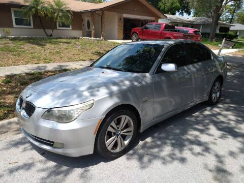 2009 BMW 5 Series for sale at Low Price Auto Sales LLC in Palm Harbor FL