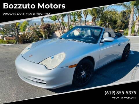 2004 Porsche 911 for sale at Bozzuto Motors in San Diego CA