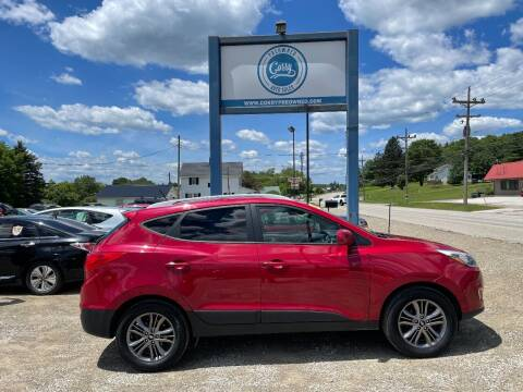 2015 Hyundai Tucson for sale at Corry Pre Owned Auto Sales in Corry PA