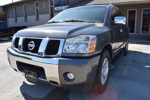 2006 Nissan Armada for sale at IMD Motors in Richardson TX