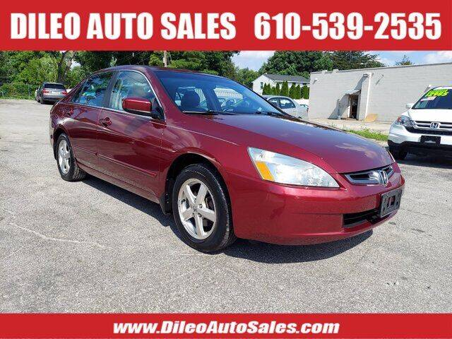2005 Honda Accord for sale at Dileo Auto Sales in Norristown PA