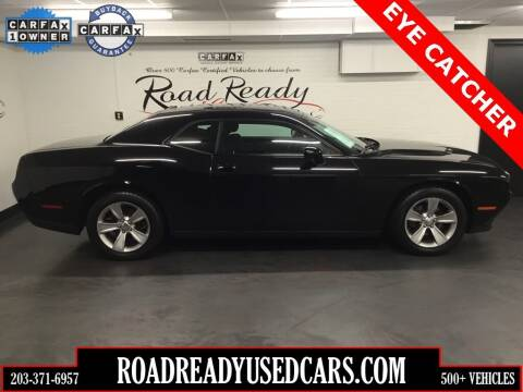 2015 Dodge Challenger for sale at Road Ready Used Cars in Ansonia CT