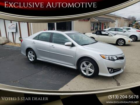 2014 Toyota Camry for sale at Exclusive Automotive in West Chester OH
