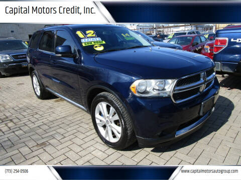 2012 Dodge Durango for sale at Capital Motors Credit, Inc. in Chicago IL