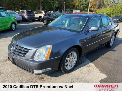 2010 Cadillac DTS for sale at Warren Auto Sales in Oxford NY