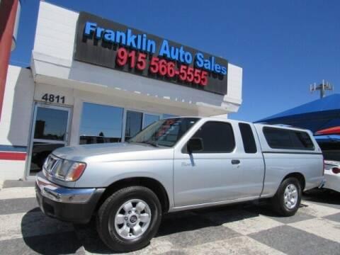 2000 Nissan Frontier for sale at Franklin Auto Sales in El Paso TX