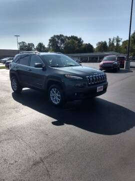 2017 Jeep Cherokee for sale at McCully's Automotive in Benton KY